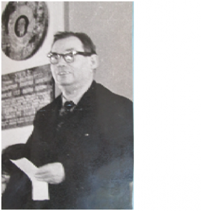 Первый президент МАН Искатель,  профессор  Я.Д. Козин
