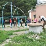 Запуск ракет в Обсерватории