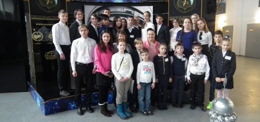 Участники исторической секции с Еленой Серовой