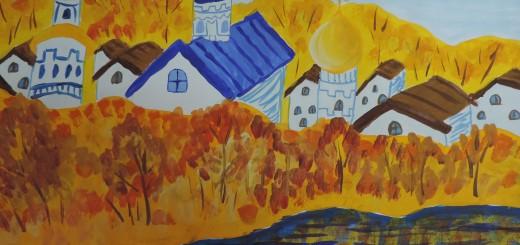 «Золотая осень». Мазилин Михаил, 10 лет