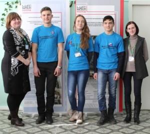 Команда г. Симферополя с наставниками